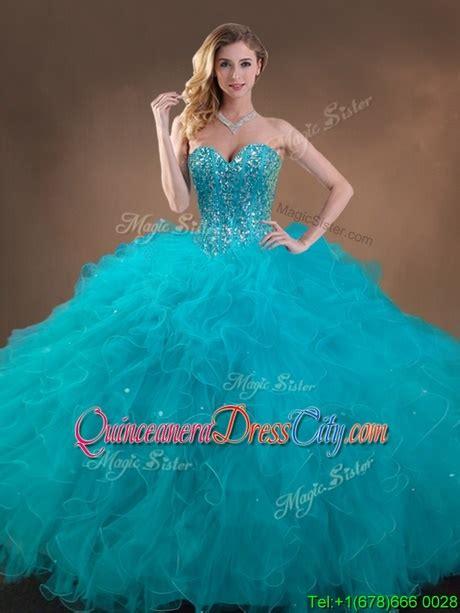 teal  dresses