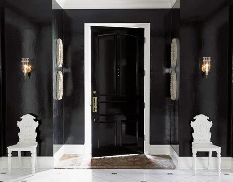 10 ideas of black and white hallways and entries as a exles of traditionality