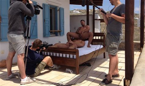 Exclusive Behind The Scenes Adam Killian And Jessy Ares