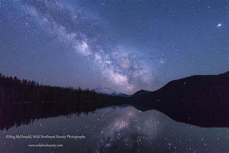Moon Milky Way Galaxy Pair Together For Stunning Time