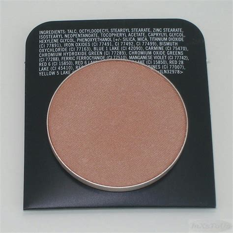 Lt Pro Powder Blush Refill mac powder blush pro palette refill pan opt format harmony