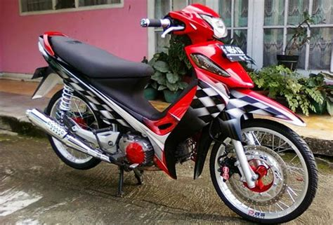 Modif Suzuki Smash Standar modifikasi suzuki smash new titan racing drag simpel
