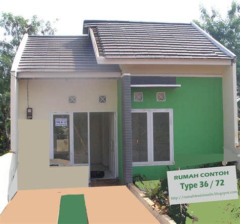 rumah minimalis modern contoh gambar rumah type  rumah