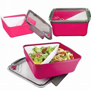 Boite A Compartiment : boite repas lunch box compartiment amovible ustensiles de cuisine cuisine ~ Teatrodelosmanantiales.com Idées de Décoration