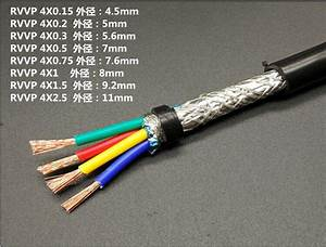 Farrow Cable RVVP, 10m High quality 0.15^mm2 4 cores ...