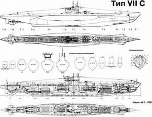 German U Boat Internal Diagram