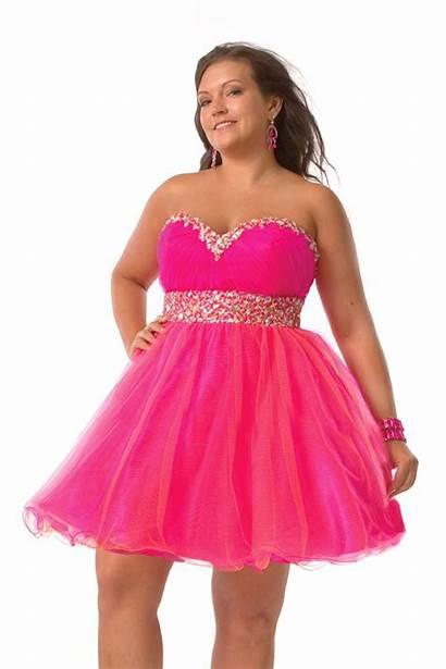 Pink Dresses Plus