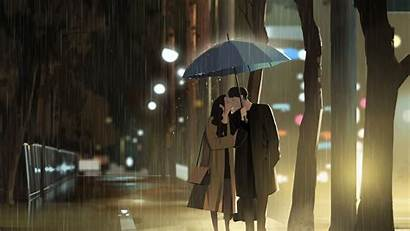 Kiss Rain 4k Background Uhd Wallpaperscraft