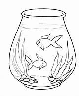 Fish Coloring Pages Simple sketch template