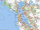 Map of San Francisco California - TravelsMaps.Com