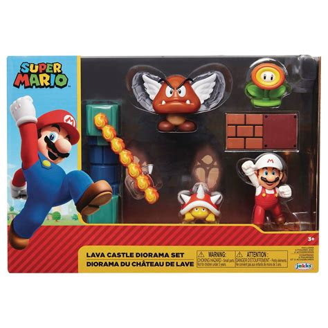 JUN208771 - NINTENDO 2-1/2IN LAVA CASTLE DIORAMA SET CS ...