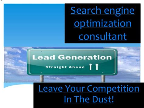 Search Engine Optimisation Consultant by Search Engine Optimization Consultant
