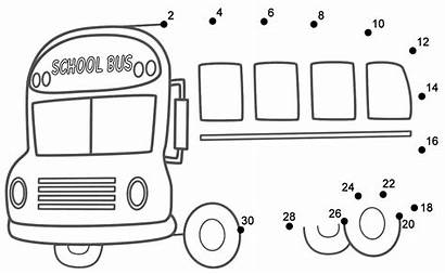 Transportation Dots Bus Connect 100th Buses Preschool