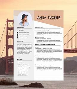 modern resume template cv template professional and With cool resume formats