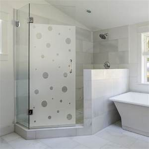 sticker porte de douche petites bulles stickers art et With stickers porte douche design