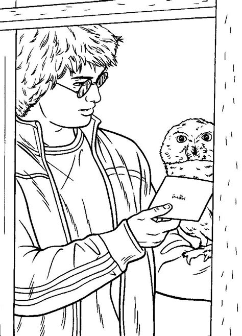 Coloring pages harry potter picture 108