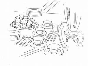 Gedeckter Tisch Kinder : gedeckter tisch ausmalbild malvorlagen coloring templates ~ Orissabook.com Haus und Dekorationen