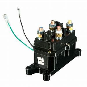 Universal 12v Solenoid Relay Contactor Winch Rocker Switch