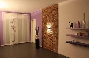 Wandverkleidung Stein Wohnzimmer : holz wandverkleidung teak grau braun bs holzdesign ~ Sanjose-hotels-ca.com Haus und Dekorationen