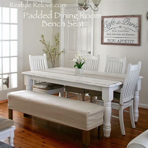 Dining Room Bench by Padded Dining Room Bench Seat With Removable Washable Drop