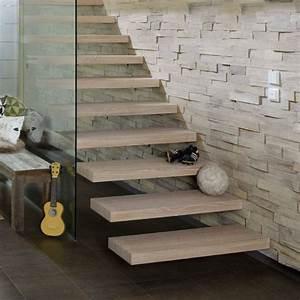 escalier lapeyre limon central free escalier japonais With peindre des escaliers en bois 11 hevea nicolas dupriez escaliers bois