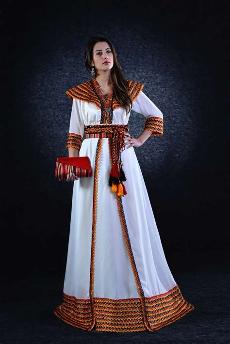 robe kabyle blanche moderne pin robe kabyle on
