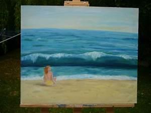 Comment Dessiner La Mer : articles de aquarine tagg s vague mer soleil bleu peinture huile dessin aquarelle huile ~ Dallasstarsshop.com Idées de Décoration