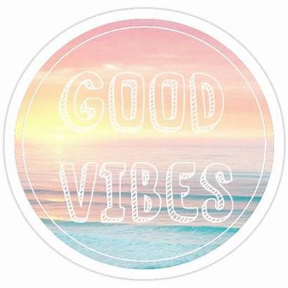 Vibes Beach Stickers Redbubble Sticker