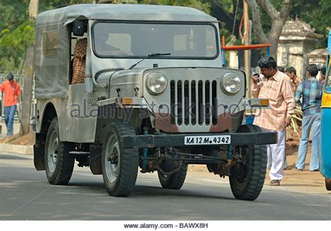 jeep mahindra mahindra jeep india stock photos mahindra jeep india