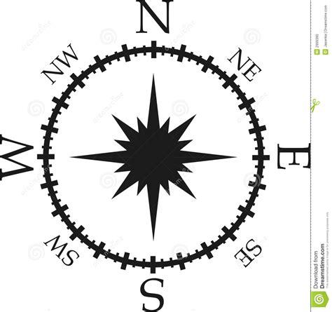 compass black and white black and white compass stock illustration image of