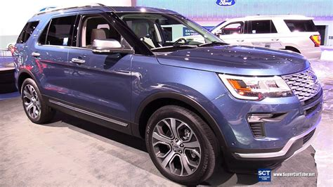 2018 Ford Explorer Platinum Colors