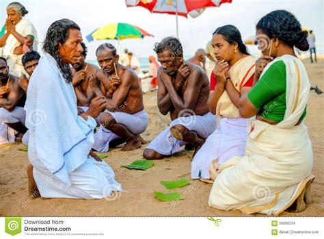 Varkala, India  February 22, 2013 Hindu Brahmin With