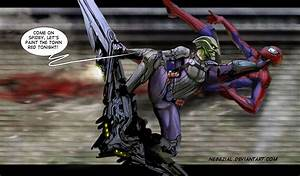 green goblin is a liittle bit insane by nebezial on DeviantArt