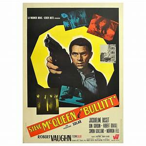 "Original Vintage Movie Poster for the Film ""Bullitt ..."