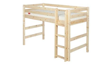 Flexa Mittelhohes Bett Holz Flexa Classic  Kiefer Natur