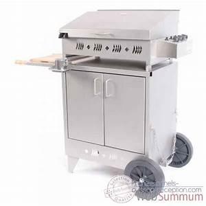 Plancha Electrique Avec Couvercle : kitchen inox 3 feux s meuble inox avec couvercle bap4305i ~ Premium-room.com Idées de Décoration