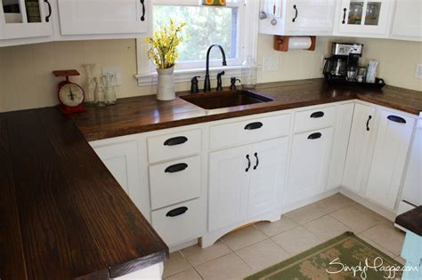 butcher block tops diy wide plank butcher block counter tops simplymaggie com