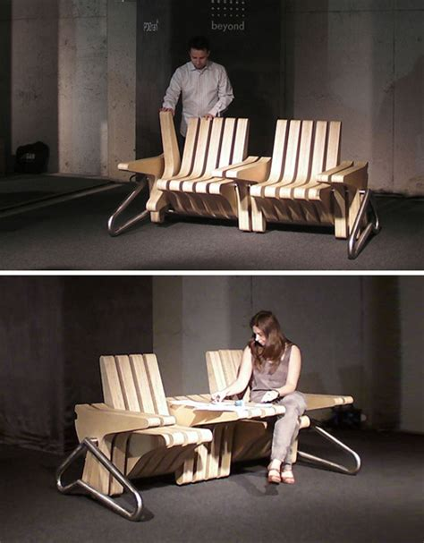 Coffee Bench by Coffee Bench Blue Ant Studio