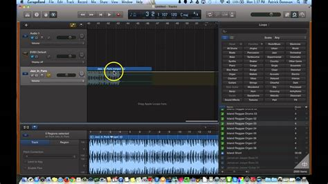 Garageband Not Working by Garageband 10 0 Fading In Out And Adjusting Volume