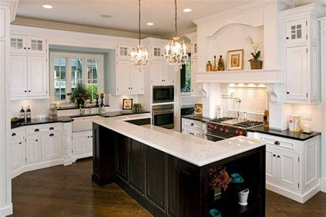 tile on kitchen countertops 50 beautiful white kitchen interior designs for 6174