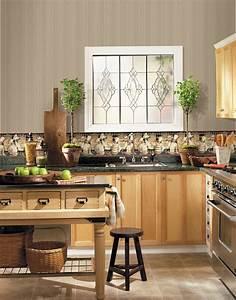 Papier Peint Cuisine Moderne : tapisserie de cuisine moderne cuisine tapisserie cuisine ~ Dailycaller-alerts.com Idées de Décoration