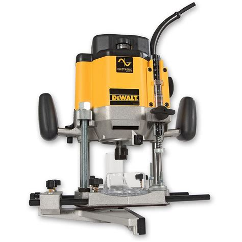 Dewalt Dw625ek 12in Variable Speed Plunge Router Toolnutie