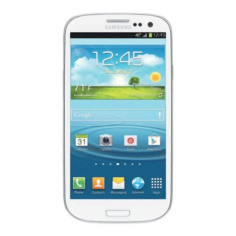 walmart android phones samsung galaxy s3 i747 16gb gsm android cell phone white