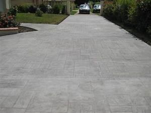 Allée Carrossable En Béton : dalle beton pour allee carrossable tout savoir pour ~ Premium-room.com Idées de Décoration