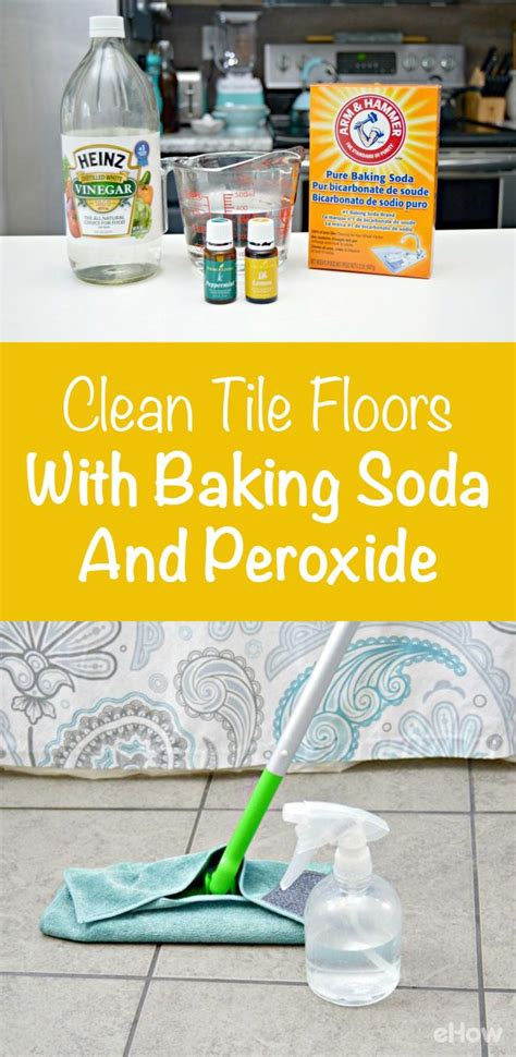 cleaning kitchen floors with vinegar how to clean tile floors with baking soda peroxide 8225