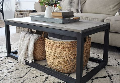 Industrial farmhouse coffee table free plans. 15 Best DIY Farmhouse Coffee Table Ideas - Craftsonfire