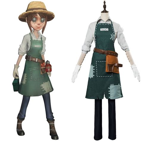 Gardener Uniform Cosplay Costume For Game Identity V