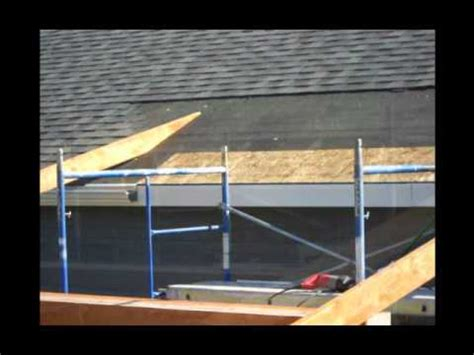 construction   roof addition   existing concrete