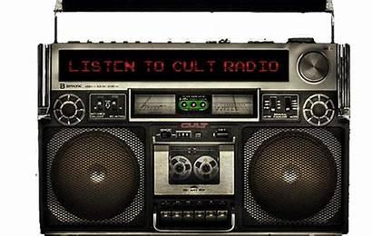 Radio Cult Listen Header Records App Playing