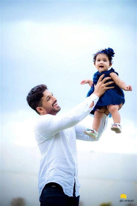 allu arjun shared  picture   daughter arha